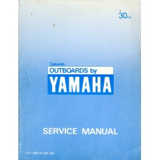 USED 1984 YAMAHA OUTBOARD SERVICE MANUAL 30EN & 25EN - Part # LIT-18616-00-05
