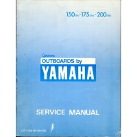 USED 1984 YAMAHA OUTBOARD SERVICE MANUAL 150ETN, 175ETN & 200ETN - Part # LIT-18616-00-06