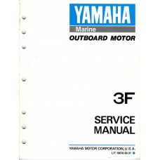 USED 1998 YAMAHA SERVICE MANUAL 3F  Part # LIT-18616-00-31