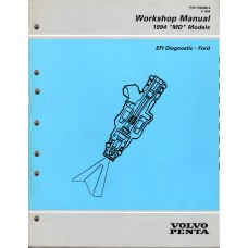 USED 1994 Volvo Service Manual for TBI Diagnostics (Ford) - Part # 7796458
