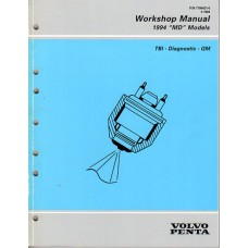 USED 1994 Volvo Service Manual for TBI Diagnostics (GM) - Part #7796431