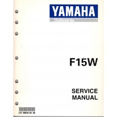 USED 1998 YAMAHA OUTBOARD SERVICE MANUAL F15W - LIT-18616-01-78