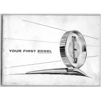 Used 1958 Edsel Owners Manual No. 5702