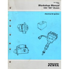 USED 1994 Volvo Service Manual for Electrtical & Ignition - Part # 7796456