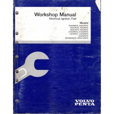 USED 2000 Volvo Service Manual for electrical, ignition, & Fuel - Part # 7797355