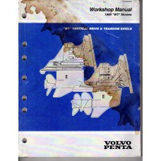USED 1999 Volvo Service Manual for Vertical Drive & Transom - Part # 3850075