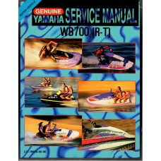 USED 1993 Yamaha Water Vehicle Service Manual (WB700 (R-T) # LIT-18616-00-96